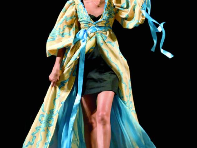 Sonia Dara at the 2011 student-run fashion show, Eleganza