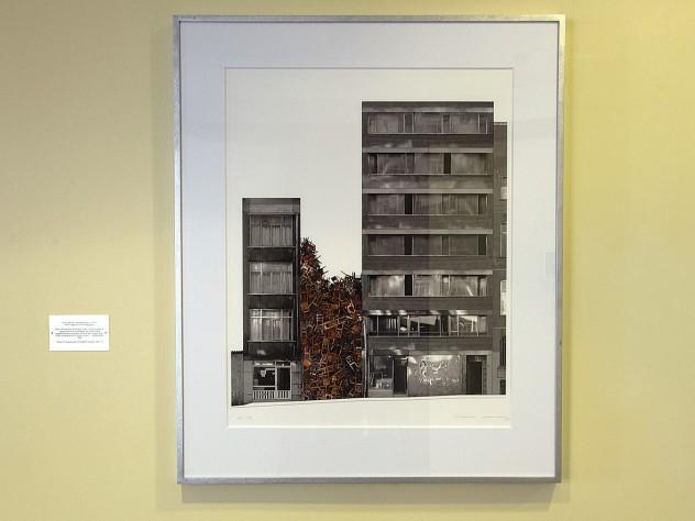 <i>Istanbul Project 1</i> (2003), by Doris Salcedo, Aldrich Hall