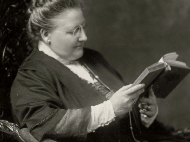 From an exhibit on poet Amy Lowell at Houghton Library