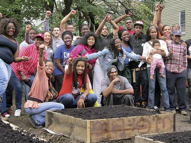 Participants in the Roxbury Environmental Empowerment Project