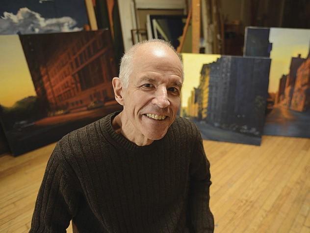Reist in his Peekskill studio