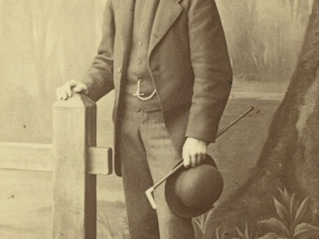 A portrait of Charles Gibson Sr.