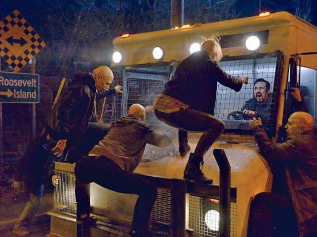 "Infected vampires attack one of the protagonists, Vasily Fet, in ""The Strain."""