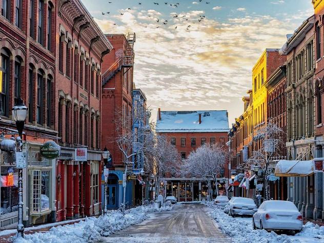A Winter S Trip To Portland Maine Harvard Magazine