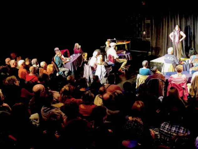 Mosquito Story Slam performers at Provincetown Theater
