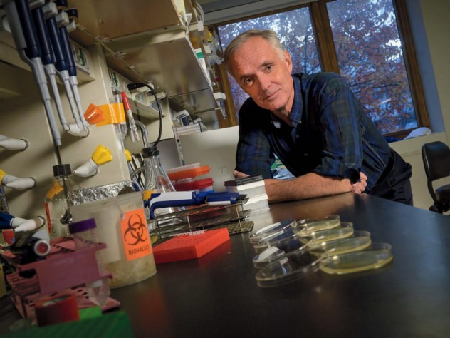 Photo of James Collins in his lab