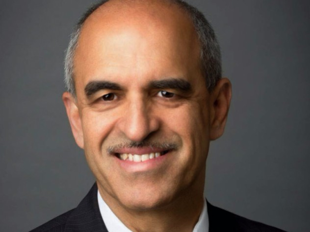 Photograph of Srikant M. Datar, new Harvard Business School dean