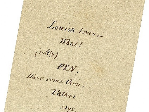 His letters, such as that to Louisa, were perhaps his only  successful writings.