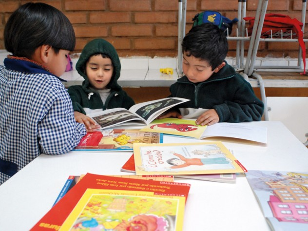 UBC focuses on classroom design and organization as well as lesson content. The program teaches that something as simple as keeping books readily accessible to children, rather than locked away in a cupboard, encourages early engagement with reading.