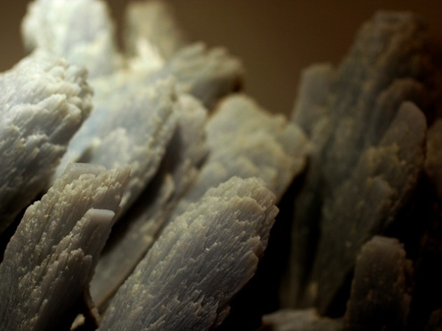 Anhydrite  from the Naica Mine in Chihuahua, Mexico