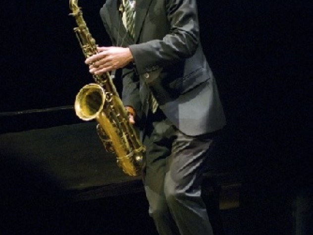 Saxophonist Joshua Redman '91 and an ensemble of Harvard sidemen closed the concert with Redman s rousing