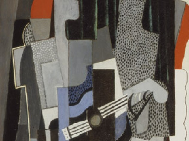Pablo Picasso, Harlequin, 1918. Oil on canvas, 147.3 x 67.3 cm