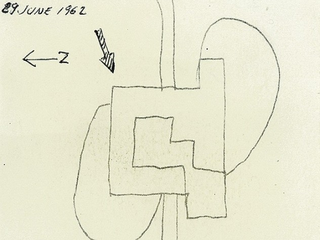Sketch of the site plan.