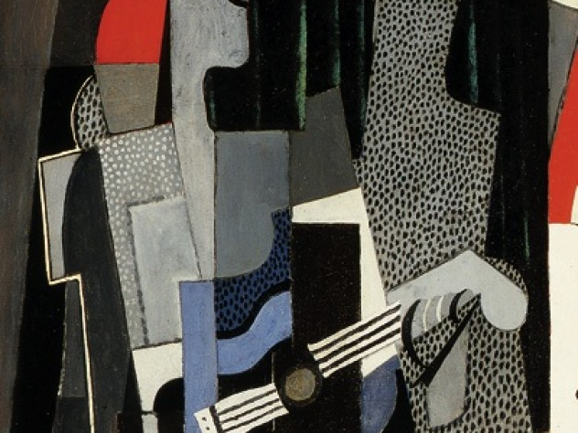 <em>Harlequin, </em>a 1918 work by Pablo Picasso, is part of the Pulitzer gift.