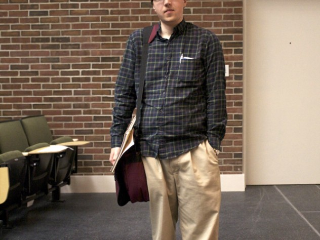 Bruce Arthur, the only graduate student on Harvard's team, is in his second year at the Law School. A history expert, Arthur played for the University of Chicago's storied Quiz Bowl team as an undergraduate.