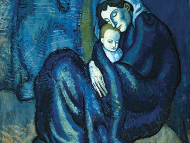 Picasso&rsquo;s <em>Mother and Child</em> on display at the Sackler Museum