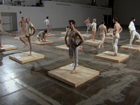 "Jesse Aron Green, Still from ""Ärztliche Zimmergymnastik,"" 2008. HD video, 80 minutes. Harvard Art Museums/Fogg Museum, Louise Haskell Daly Fund, 2014.123."