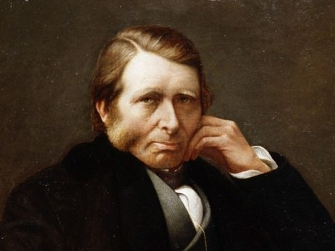 Portrait of Ruskin by Charles Herbert Moore