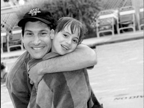 Tom Fields-Meyer with his son Ezra