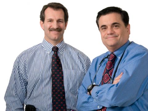 Joseph Giacino (left) and Ross Zafonte