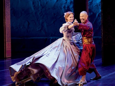"""Hoon Lee and Kelli O'Hara in """"The King and I"""""""