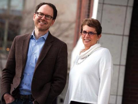 Photo of labor law experts Benjamin Sachs and Sharon Block