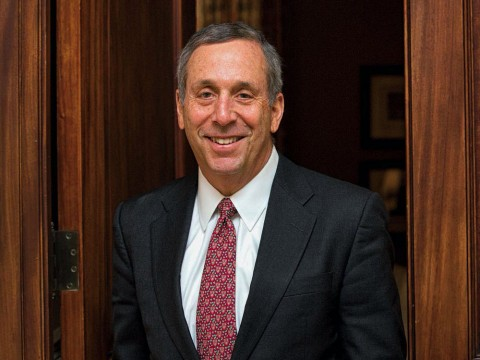 Harvard President Lawrence S. Bacow