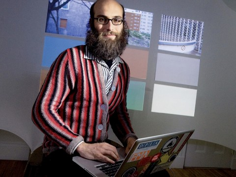 Lecturer in architecture Jesse Shapins