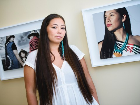 Photographer Matika Wilbur is gathering original photographic images and oral narratives from all Tribal communities throughout the United States.