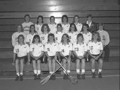 The 1990 Harvard women's lacrosse team