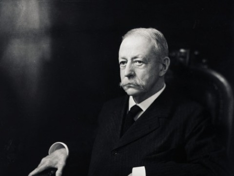 A. Lawrence Lowell, president when the Extension School was founded