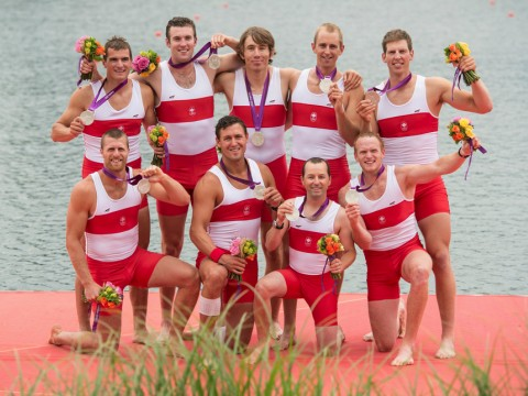 Howard, 2nd row center, captained his team to a silver medal this week.
