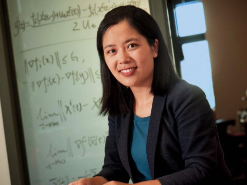 Photograph of electrical engineering and applied math associate professor Na Li