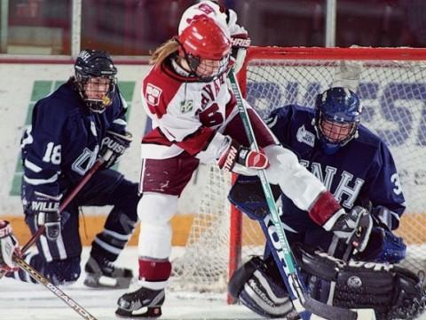 March 27, 1999—The Harvard women's ice-hockey team win the national championship.