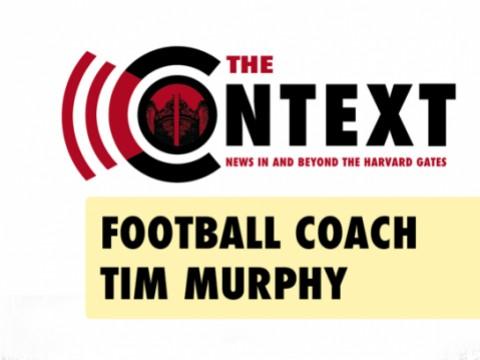"The Context Logo with text: ""Football Coach Tim Murphy"""