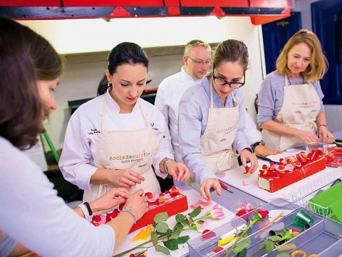 Cooking lessons at the French Cultural Center
