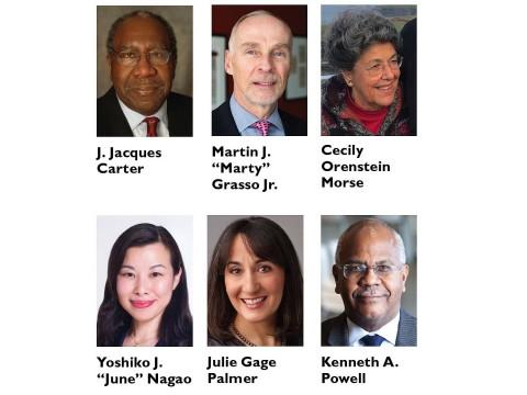 Portrait photos of HAA Award winners