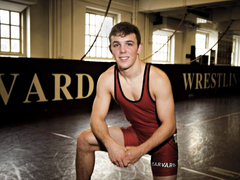 Todd Preston says a strong mental game has been his biggest asset in college wrestling.