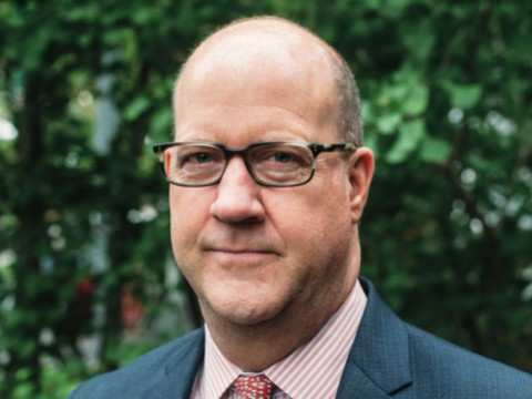 Photographic portrait of Philip W. Lovejoy, executive director, Harvard Alumni Association