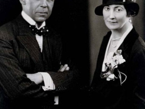 Robert and Mildred Bliss, during his diplomatic posting to Sweden in the 1920s.