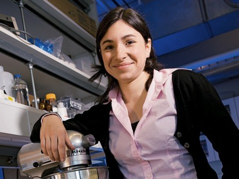Mechanical engineer Emilie Dressaire