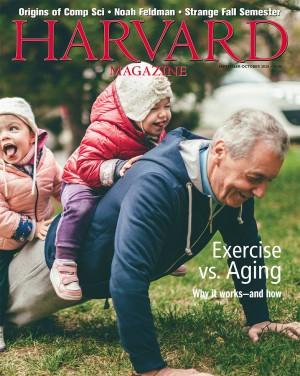 Harvard Magazine September-October 2020 Cover