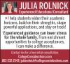 Julia Rolnick Educational Consultant Ad