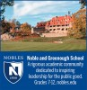 Noble and Greenough School Ad